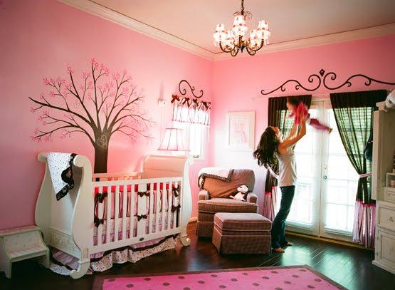 Pink Brown Nursery
